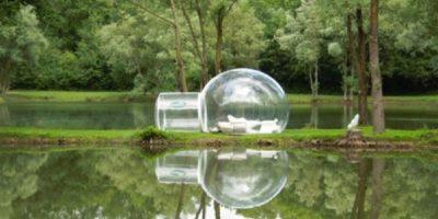 Bubble Tree Hotel, en Francia. Foto:Listverse