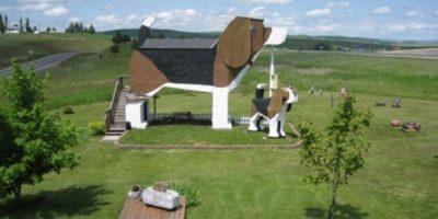 Dog Bark Inn, en Estados Unidos. Foto:Geekology