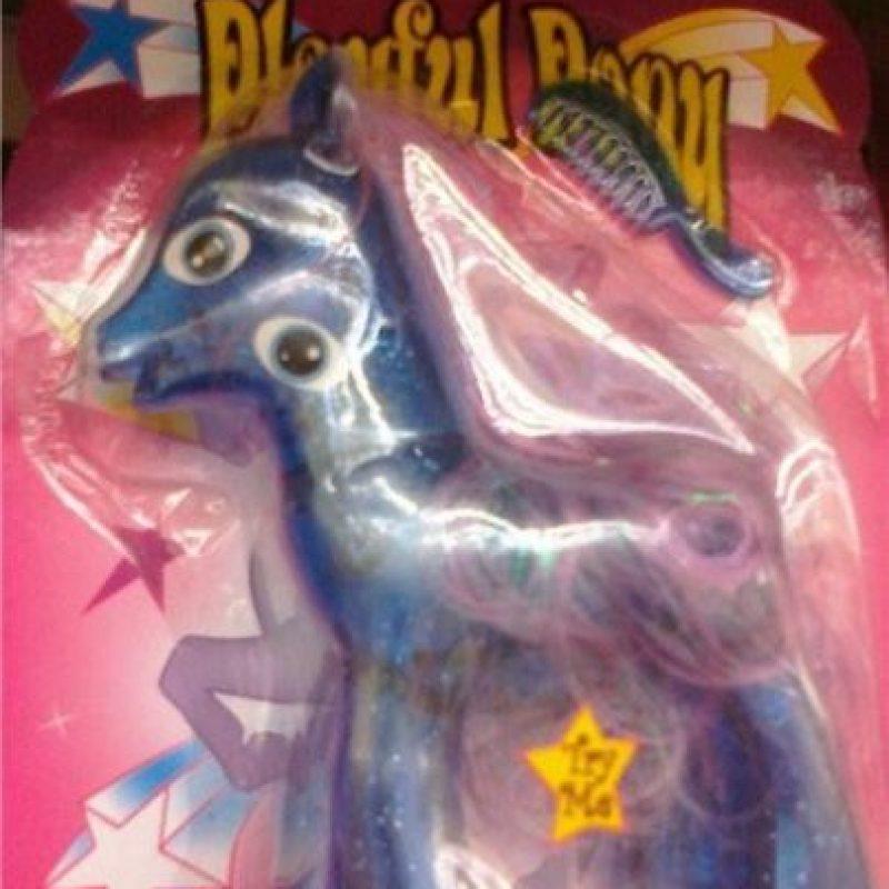 "La ""Pequeña Pony"" picassiana Foto:Tumblr/Bootleg Toys"