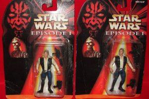 Ajá, Han Solo en el Episodio I Foto:Tumblr/Bootleg Toys