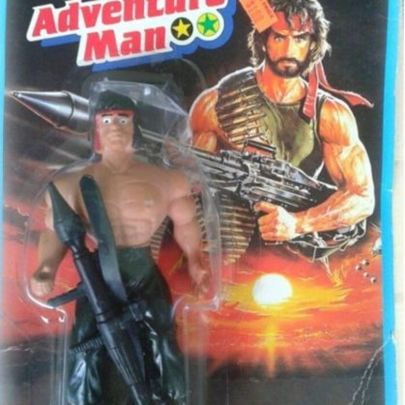 "He aquí a ""Rambo"" Foto:Tumblr/Bootleg Toys"
