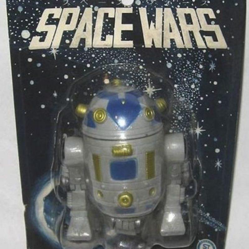 R2D2 está en otra guerra Foto:Tumblr/Bootleg Toys