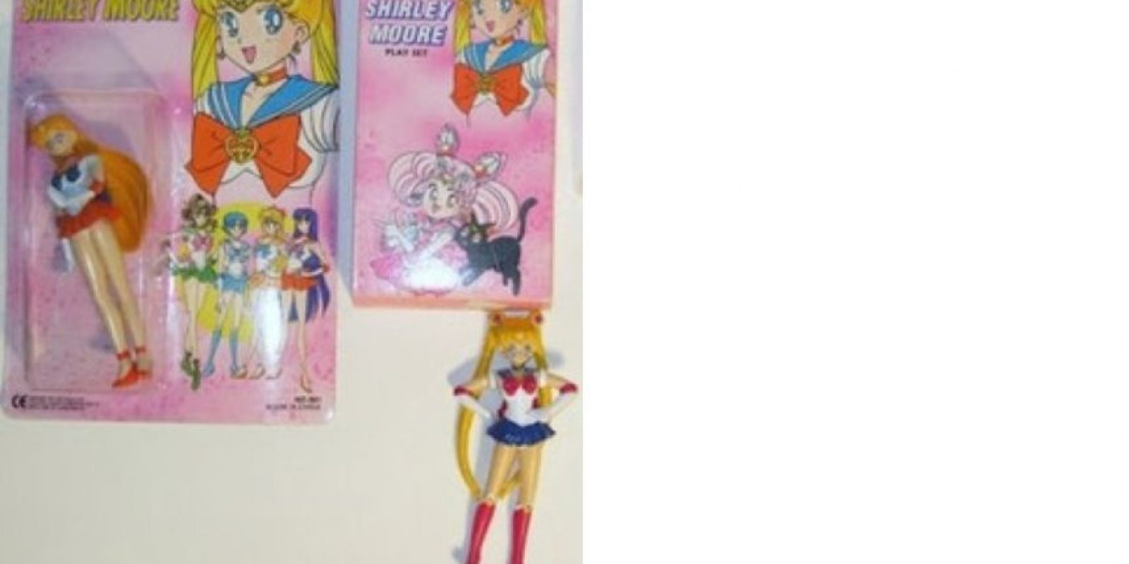 Le cambiaron el nombre a Sailor Moon Foto:Tumblr/Bootleg Toys