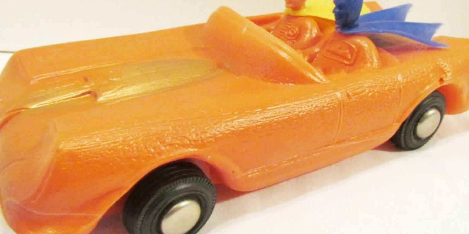 Auto peculiar. Foto:Tumblr/Bootleg Toys