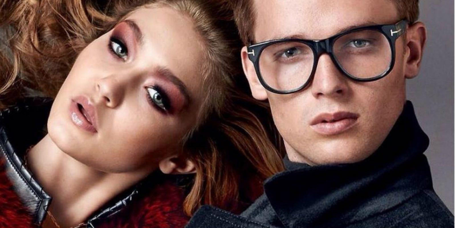 Ha posado para Tom Ford en la campaña de gafas de 2014, junto a Gigi Hadid Foto:Facebook Patrick Schwarzenegger