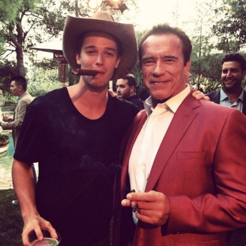 Es el mayor de cuatro hermanos Foto:Facebook Patrick Schwarzenegger
