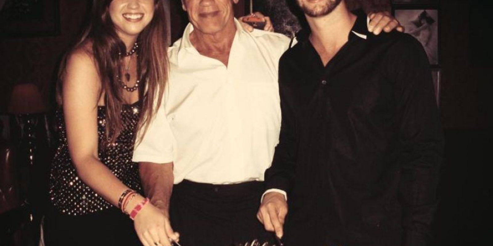 Le gusta estar en familia Foto:Facebook Patrick Schwarzenegger