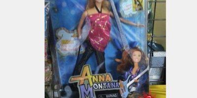 """""""Anna Montana"""" va a tener un hijo. Foto:Tumblr/Bootleg Toys"""