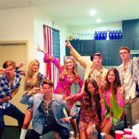 Disfrutaban de ir a fiestas Foto:Instagram @patrickschwarzenegger