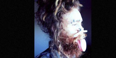 """Jenya Bolotov es """"el ornitorrinco humano"""". Es un diseñador ruso de 26 años que extendió sus labios para parecer a este animal. Foto:Facebook/Jenya Bolotov"""