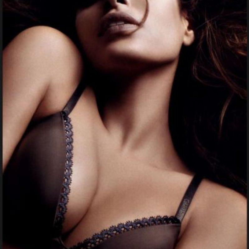 Modeló para la marca en 2008 Foto:Calvin Klein