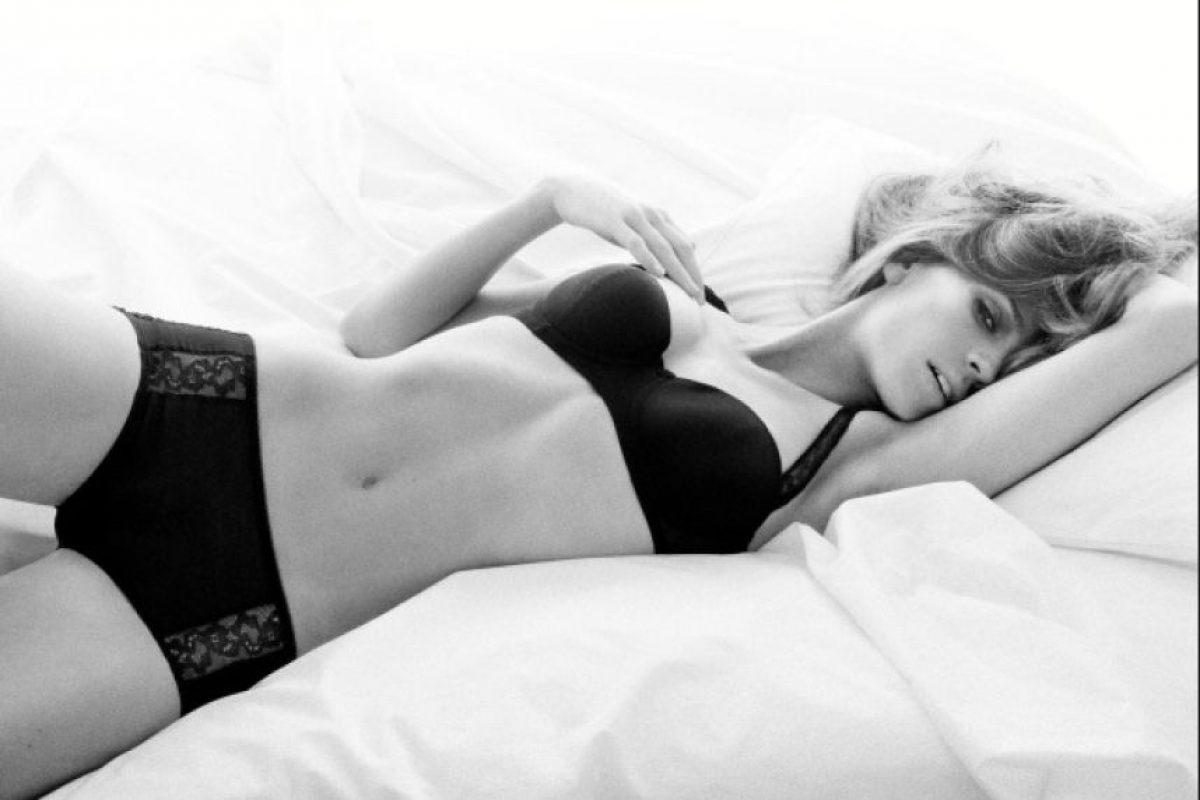 Modelo en 2009 Foto:Calvin Klein