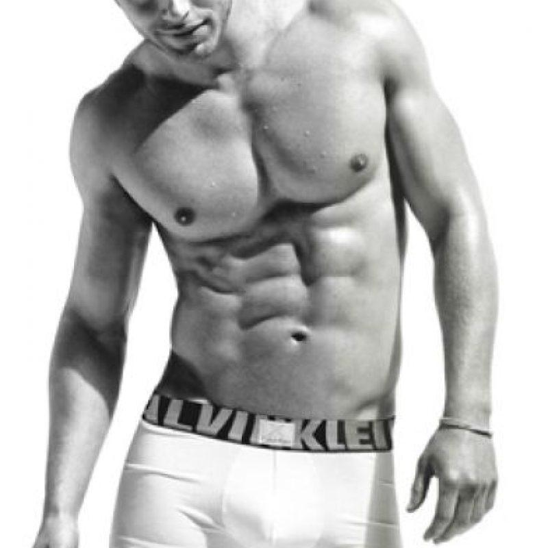 Fue contratado en 2010 Foto:Calvin Klein