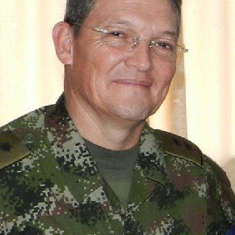 El general Rubén Darío Alzate Mora. Foto:AP