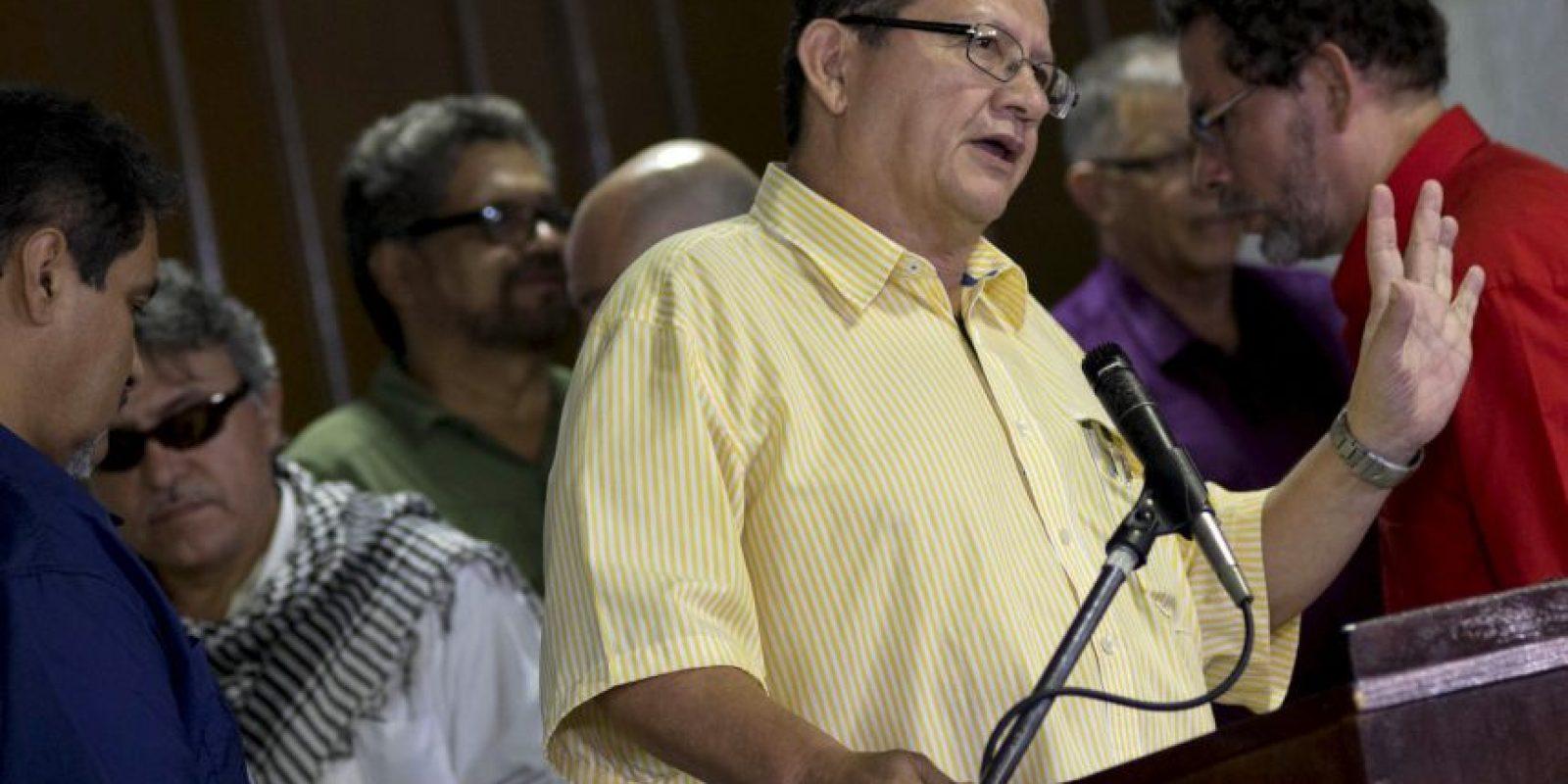 La guerrilla reiteró su voluntad de seguir trabajando por la paz. Foto:AP