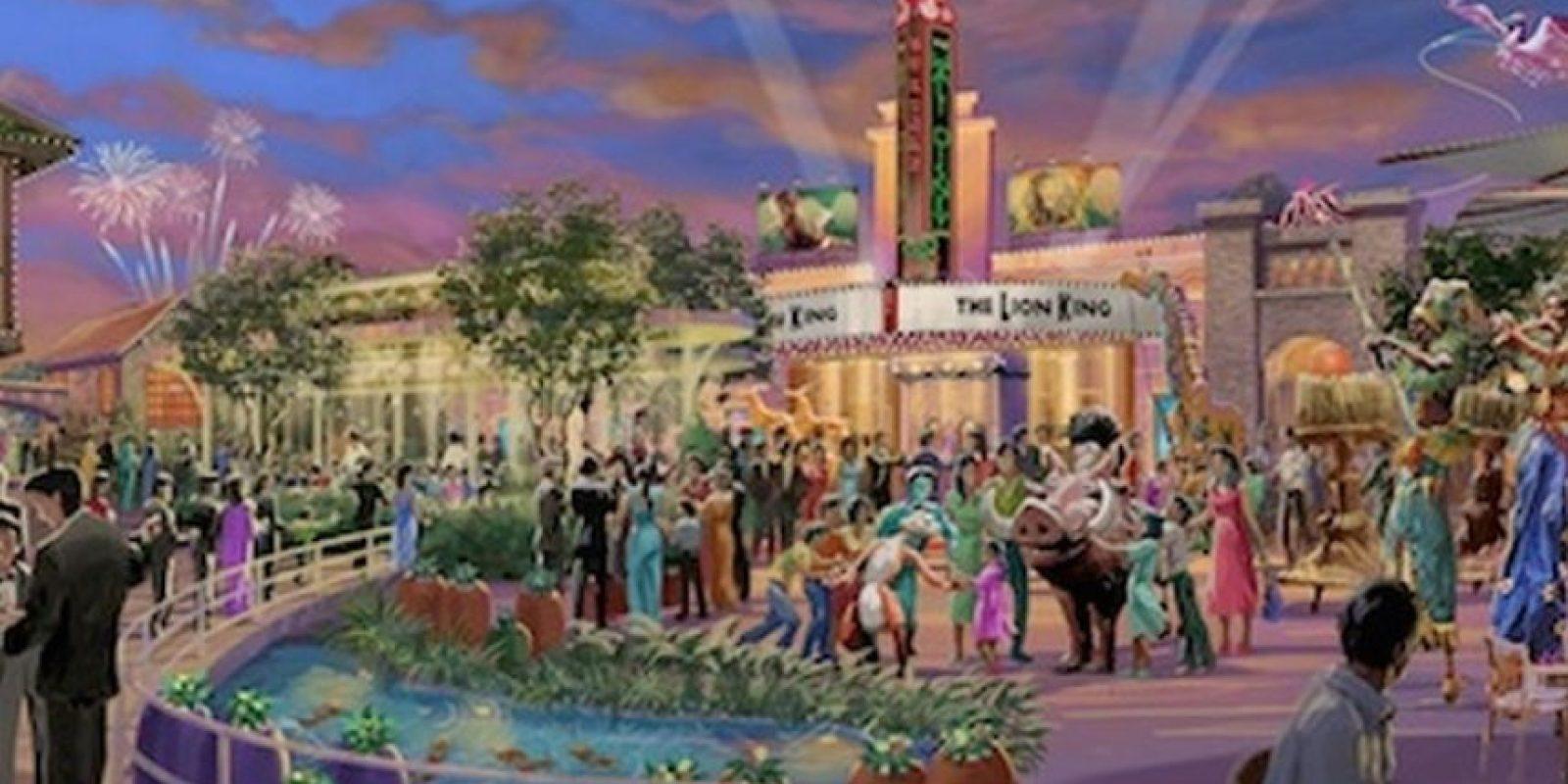 Aún no hay planos para el interior Foto:Disney Insider Blog