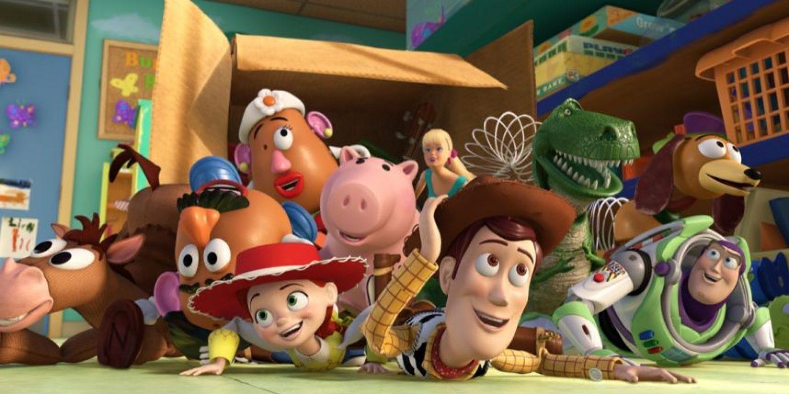 """La película de """"Toy Story"""" inspiró la creación de un hotel Foto:IMDB"""