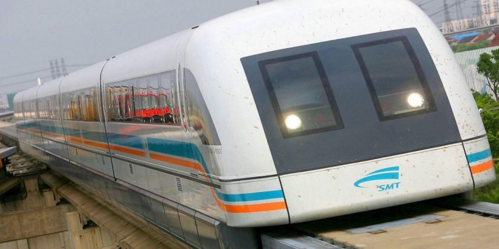 Shanghai Maglev- Comenzó a operar en 2004 en Shangai, China. Foto:Getty