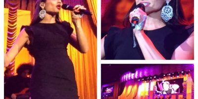 "Natalia Jiménez cantó el tema ""Penélope"" Foto:Facebook/LatinGrammy"