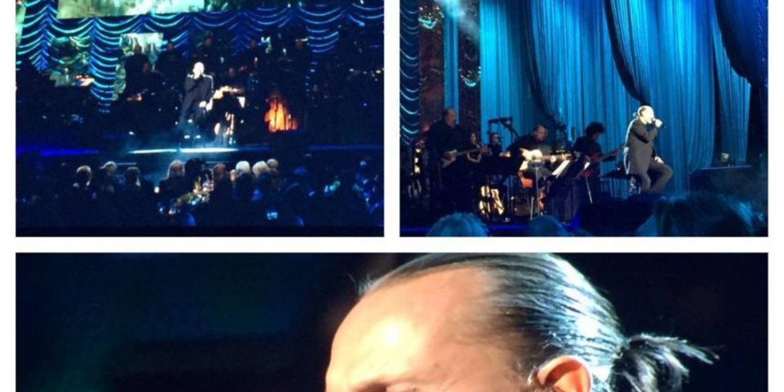 "Miguel Bosé interpretó ""Lucía"" Foto: Facebook/LatinGrammy"