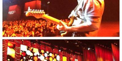 """Juanes interpretando el tema """"Hoy puede ser un gran día"""" Foto:Facebook/LatinGrammy"""