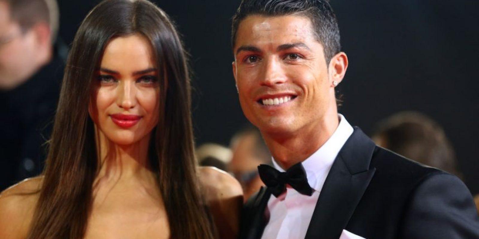 Irina Shayk y Cristiano Ronaldo. Foto:Getty Images
