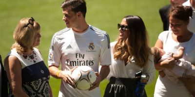 Gareth Bale y Emma Rhys-Jones. Foto: Getty Images