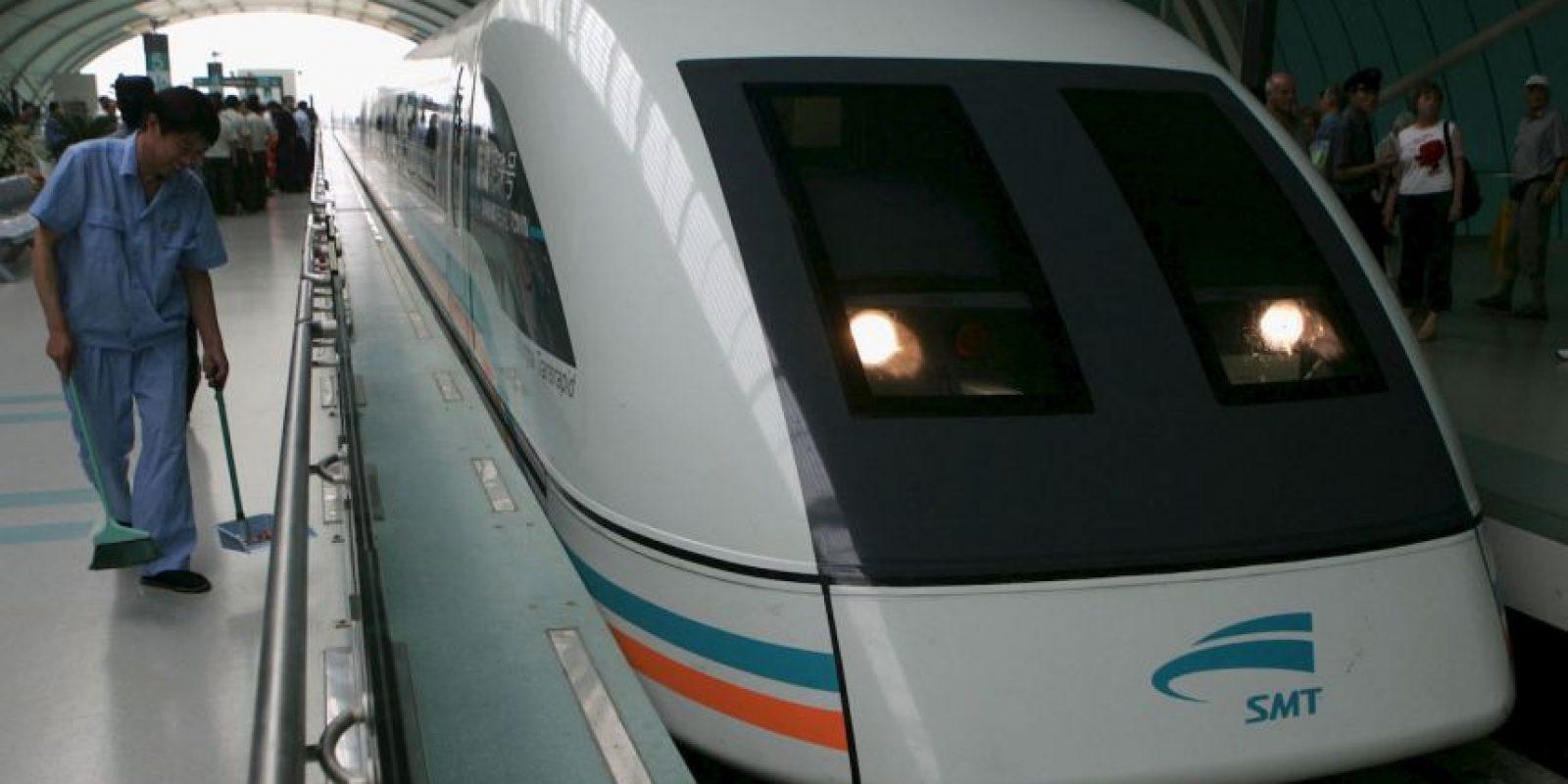 Shanghai Maglev- Tiene una velocidad máxima de 480 kilómetros por hora. Foto:Getty