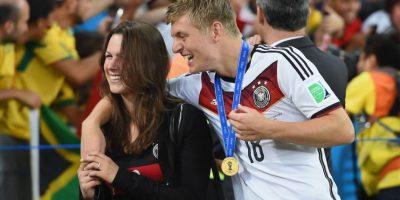 A la pareja se le vio felizmente en la pasada Copa del Mundo. Foto:Getty Images