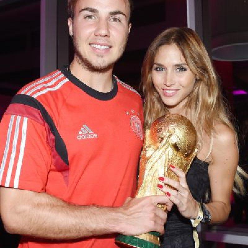 Ambos disfrutaron en grande durante Brasil 2014. Foto:Getty Images