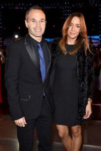 Andrés Iniesta y Anna Ortiz. Foto:Getty Images