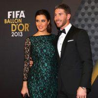 Sergio Ramos y Pilar Rubio. Foto:Getty Images