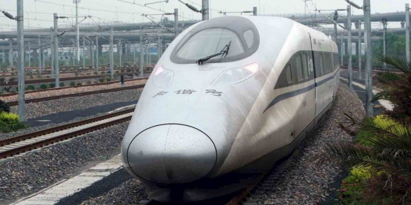 China Railways CRH380A- Es el segundo tren más rápido. Foto: Getty