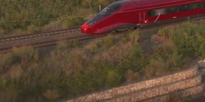 AGV/NTV Italo- Alcanza una velocidad de 360 kilómetros por hora. Foto:Captura de pantalla
