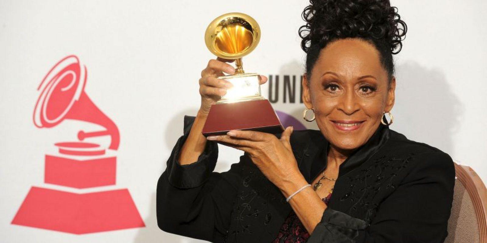 Omara Portuondo es la ganadora con más edad Foto:Getty Images