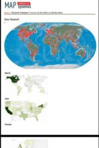 Este es el impacto de su publicación a nivel mundial Foto:Twitter/Jordan Axani