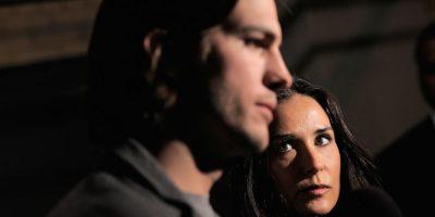 La pareja se casó en 2005, sin embargo anunció su divorcio en 2011, después de que el actor le fuera infiel a Moore. Foto:Getty Images