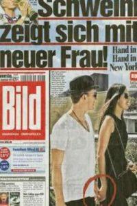 El futbolista alemán estaría saliendo con la tenista serbia después de haber estado casado con Sarah Brandner desde 2007. Foto:vía Bild