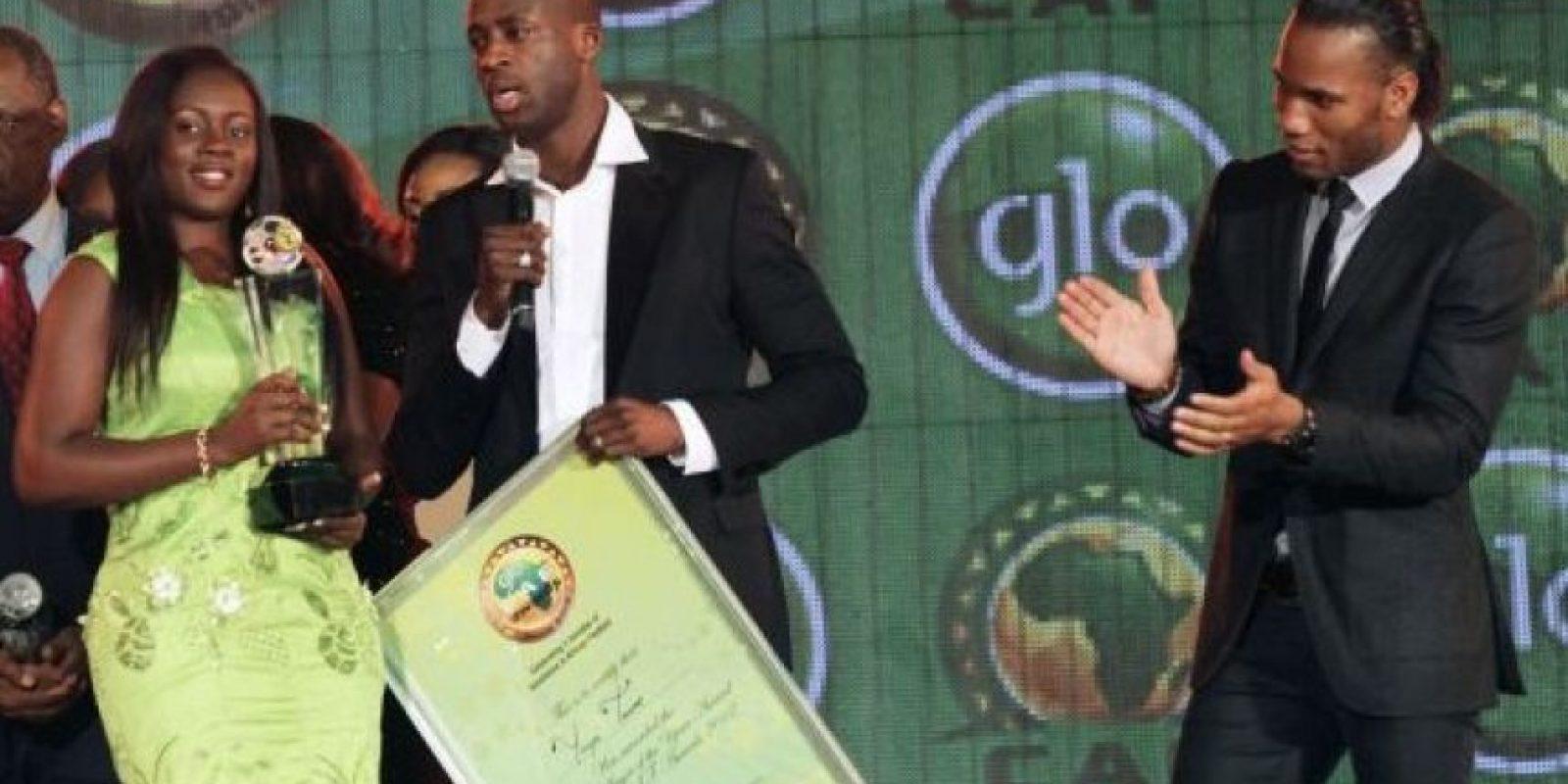 Yaya Touré y Ginebra. Foto:Twitter