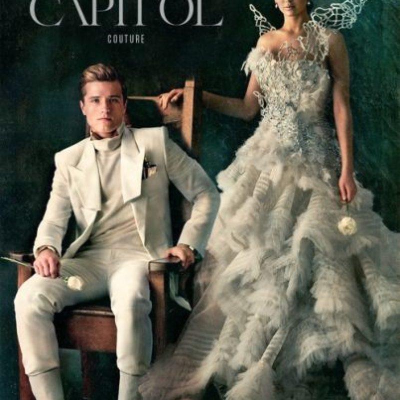"""Así como la rebelión de Katniss Everdeen, con su """"Sinsajo"""" Foto:Capitol Couture"""