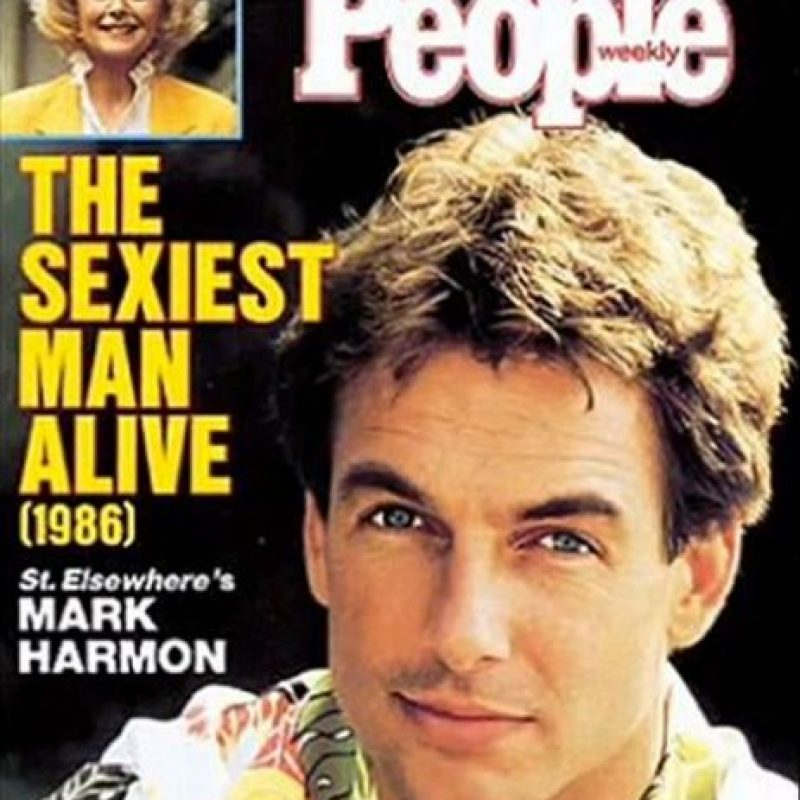 1986, Mark Harmon Foto: People