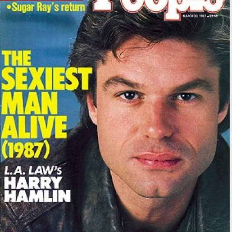 1987, Harry Hamlin Foto: People