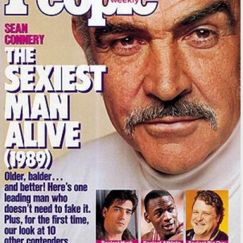1989, Sean Connery Foto: People