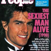 1990, Tom Cruise Foto: People