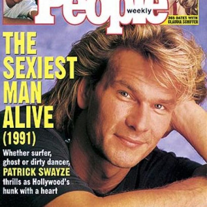 1991, Patrick Swayze Foto: People