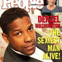 1996, Denzel Washington Foto: People