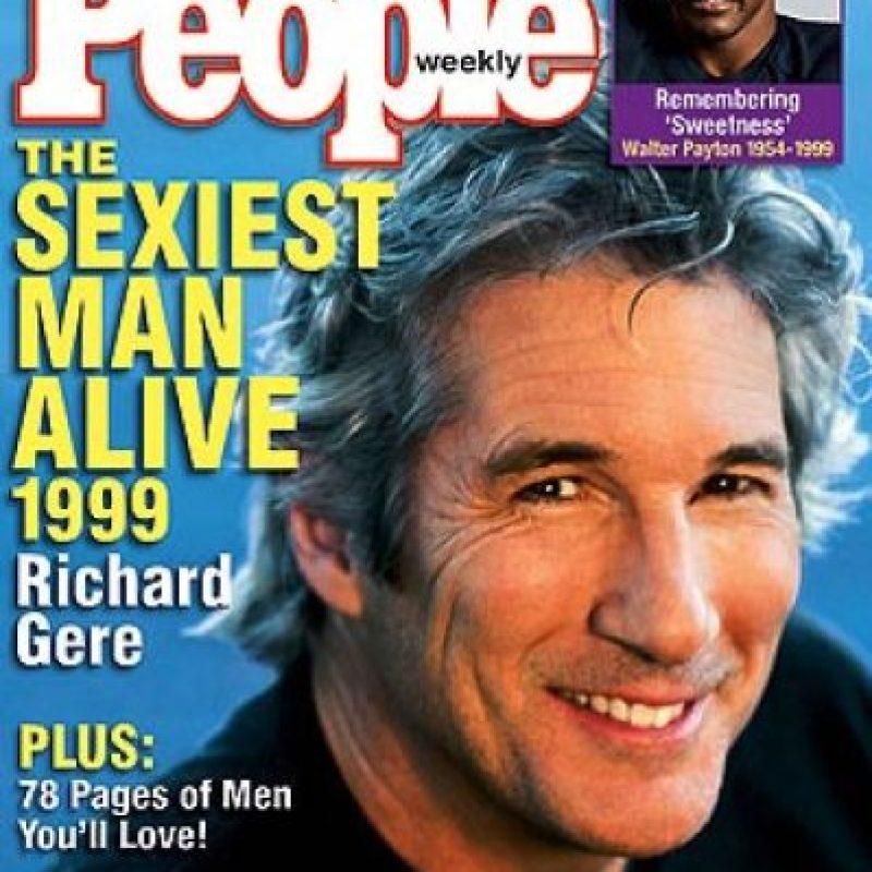 1998, Richard Gere también fue portada en 1999 Foto:People