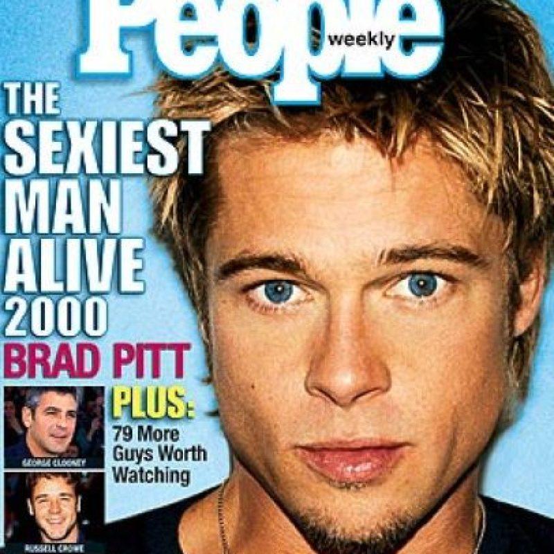 Bard Pitt también fue portada en el año 2000 Foto:People