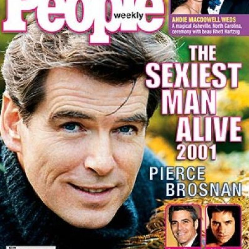 2001, Pierce Brosnan Foto: People