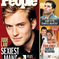 2004, Jude Law Foto: People